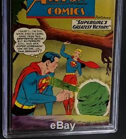 Action Comics #262 (dc 1960) Cgc 9.0 Ow-w Supergirl's Greatest Victory