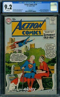 Action Comics 270 CGC 9.2 White Pages
