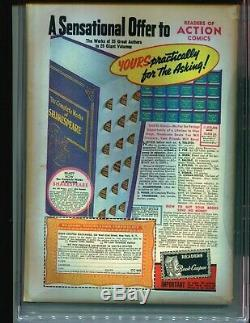 Action Comics 27 CGC 4.5 1st LOIS LANE COVER! 1940 Superman RARE! HOT BOOK