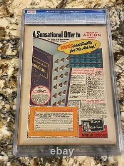 Action Comics #27 Cgc 4.5 1st Lois Lane Cover! Rare Low Pop Book Superman Cover