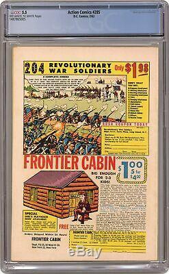 Action Comics #285 CGC 5.5 1962 1487865005