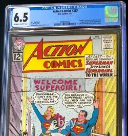 Action Comics #285 (DC 1962) CGC 6.5 Supergirl's Existence Revealed! Comic