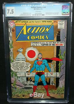 Action Comics #300 Superman Revenge Quad App CGC Grade 7.5 1963