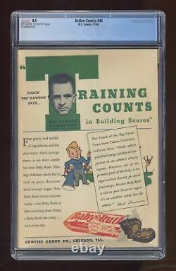 Action Comics #30 CGC 8.5 1940 1169824001