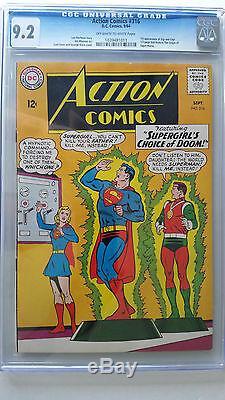 Action Comics #316 CGC 9.2 NM