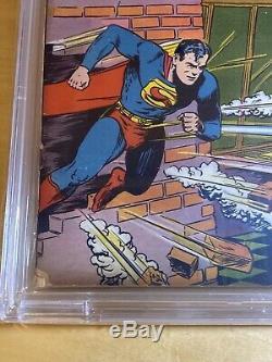 Action Comics #32 1941 CBCS 4.0 NOT CGC Restored 1st Krypto Ray Gun! Seigel MP