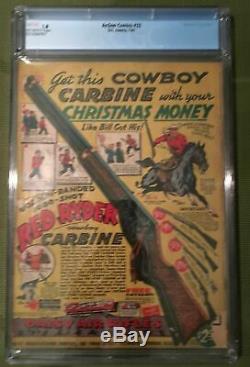Action Comics #32 (1941) CGC 1.8 - 1st Krypto Ray Gun! Jerry Seigel Gardner Fox