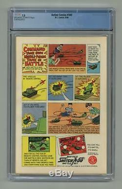 Action Comics #340 CGC 7.5 1966 1397022013 1st app. Parasite
