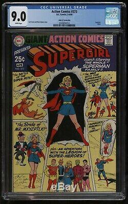 Action Comics 373 CGC VF-NM Plus Fifth Highest Graded Just Stunning