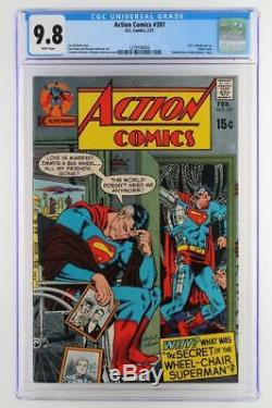 Action Comics #397 -MINT- CGC 9.8 NM/MT DC 1971 -Superman- HIGHEST GRADE