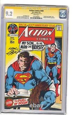 Action Comics #400 CGC 9.2 classic Neal Adams Signature Series