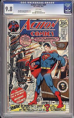 Action Comics #405 Cgc 9.8 White Pgs Superman Neal Adams Highest Certified