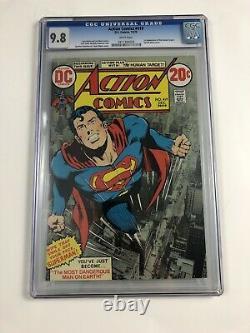 Action Comics #419 CGC 9.8 DC Comics Classic Neal Adams Cover