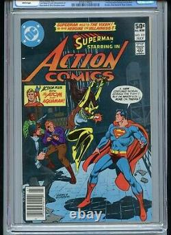 Action Comics #521 CGC 9.6 White 1st Vixen