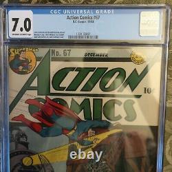 Action Comics #67 DC Pub 1943