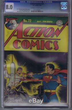 Action Comics #72 DC Pub 1944