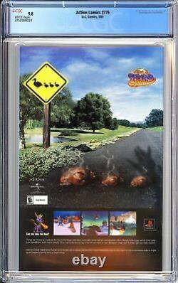 Action Comics #775 CGC 9.8 WP 2001 3755990024 1st App. Manchester Black & Elite