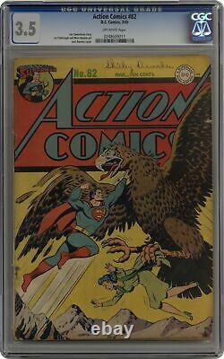 Action Comics #82 CGC 3.5 1945 0248609011