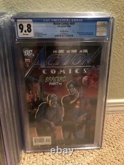 Action Comics #869 (2008) Recalled (beer Bottle) Cover Cgc 9.8