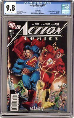 Action Comics #892B Reis 125 Variant CGC 9.8 2010 3736446002