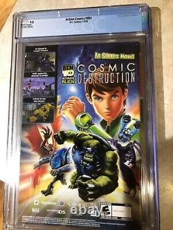 Action Comics #894 2010 CGC 9.8 Graded Death Appearance David Finch Cover