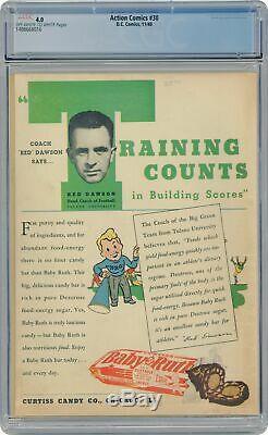 Action Comics (DC) #30 1940 CGC 4.0 1488668016