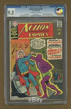 Action Comics (DC) #340 1966 CGC 9.2 1226453001