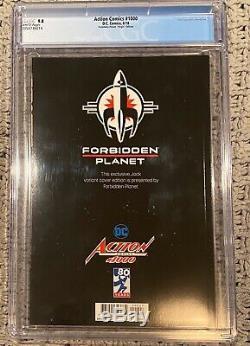 Action Comics Forbidden Planet Jock Cover CGC 9.8