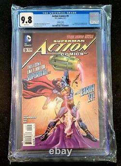 Action comics #9 rags morales variant cgc 9.8 Dc comics calvin ellis