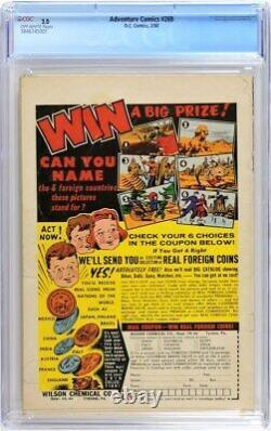 Adventure Comics 269 Cgc 3.0 Siegel Swan 1960