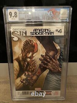 Amazing Spider-Man #4 1st Appearance Silk CGC 9.8 HOT BOOK WHITE PAGES New Movie