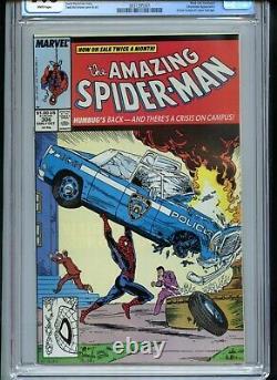 Amazing Spiderman #306 CGC 9.6 White Pages McFarlane Action Comics Homage