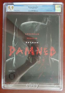 Batman Damned #1 Graded CGC 9.9 MINT DC Comics RARE UNCENSORED