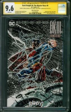 Batman Dark Knight III 9 CGC 4XSS 9.6 Frank Miller Action Comics 1100 Variant