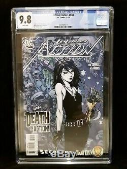 CGC 9.8 Action Comics # 894 1st Appearance of Death in DCU NM/MT Sandman