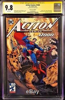 DC ACTION COMICS #1000 CGC SS 9.8 Jim Lee Tour SUPERMAN 1st ROGOL ZAAR BATMAN