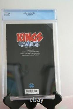 DC Action Comics 1000 CGC 9.8 RARE Kings Comics Variant Cover Superman