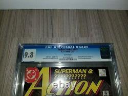 DC CGC 9.8 Action Comics 595 1st Silver Banshee John Byrne