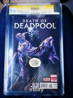 Deadpool #45 1100 Moore Varient SIGNED BY STAN LEE CGC 9.6 Certified