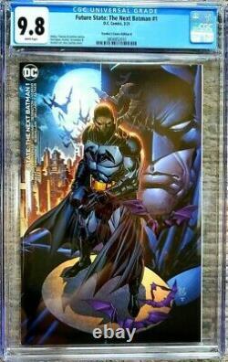 Future State THE NEXT BATMAN #1 CGC 9.8 Lashley Frankies Comics VIRGIN VARIANT