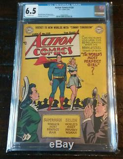 Golden Age Action Comics #133 Superman Comic Book CGC 6.5 FN+
