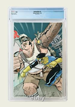 Invincible 1 CGC 9.8 Larry's Wonderful World of Comics Limited Edition