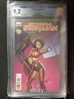 Invincible Iron Man #1 (IronheartRiri Williams) Action Figure Variant
