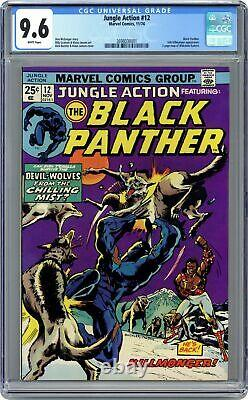 Jungle Action #12 CGC 9.6 1974 3698030001