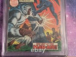 Jungle Action #5 1st Black Panther In Title Marvel Comic CGC 9.0 Romita Signed