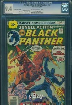 Jungle Action & Black Panther #22 Cgc 9.4 Nm Rare. 30 Price Variant Marvel Comic
