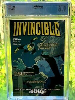 MAKE OFFER IMAGE Comic and Prime Series Invincible #1 CGC 9.6 Very Rare 1stPrint