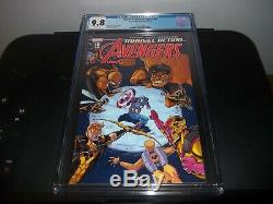 Marvel Action AVENGERS #10 CGC 9.8 NM/MT 1st First YELLOW HULK! RED HOT COMIC
