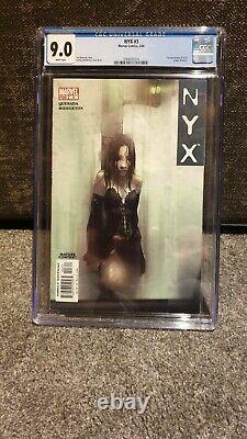 Nyx 3 CGC 9.0 First X23 Marvel Comics Scarce Hot