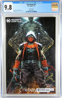 Red Hood #51 (kael Ngu Variant) Comic Book Cgc Graded 9.8 Nm/m